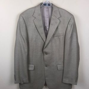 Andrew Fezza Suit Jacket - Silk & Worsted Wool